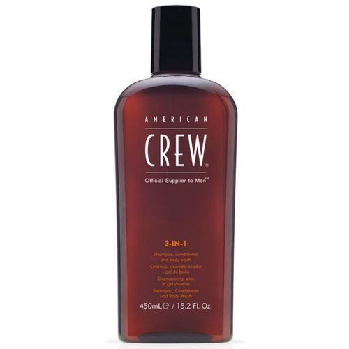 American crew Ac 3 in 1 shampoo, conditioner and body wash 450ml