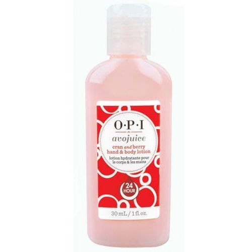 avojuice cran & berry juice hand & body lotion balsam do dłoni i ciała - żurawina (28 ml) marki Opi