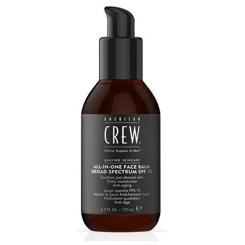 American Crew All-In-One Face Balm SPF15 | Balsam po goleniu z filtrem UV 170ml