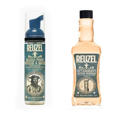Reuzel beard foam 70ml + reuzel after shave 100ml