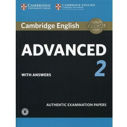 Cambridge English Advanced 2 Student's Book with answers and Audio - Dostawa 0 zł (2016)