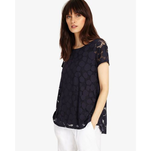 Phase Eight Becky Burnout Top, wiskoza
