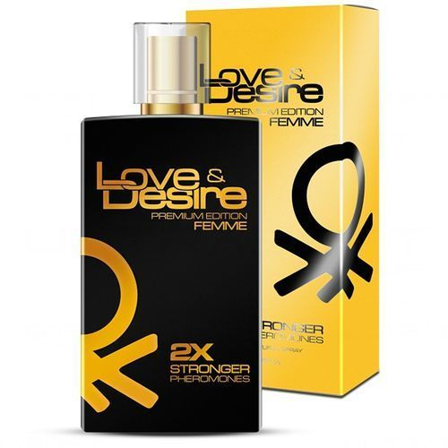 Love desire premium 100ml damskie perfumy z feromonami marki Sexual health series