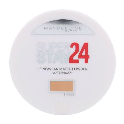 Maybelline SuperStay 24H Long-Lasting puder wodoodporny odcień 21 Nude 9 g (3600530854387)