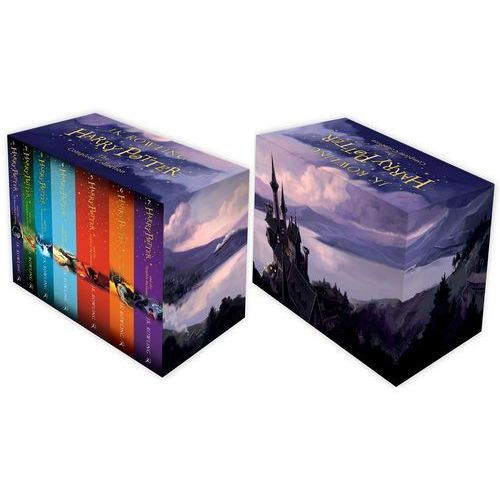 Harry Potter Boxed Set: The Complete Collection (Childrens Paperback), oprawa miękka