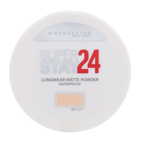 Maybelline superstay 24h long-lasting puder wodoodporny odcień 10 ivory 9 g (3600530854363)