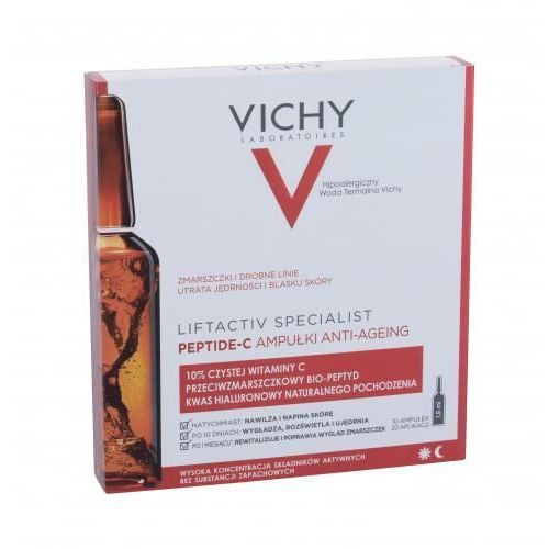 Vichy Liftactiv Peptide-C Anti-Aging Ampoules serum do twarzy 18 ml dla kobiet