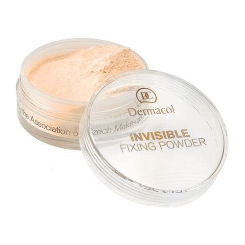 invisible fixing powder | utrwalający puder transparentny - banana 13,5ml marki Dermacol